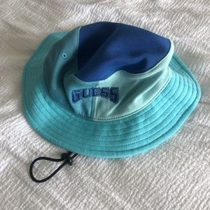 GUESS x J Balvin collab bucket hat